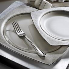 Kütahya Porselen Bone Mare 62 Parça 9620 Desenli Yemek Takımı