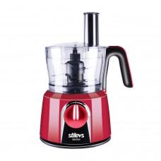 Stilevs Maxi Chef Mutfak Robotu Kırmızı ve Siyah